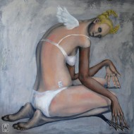 my perfect angel dear 100 x 100cm