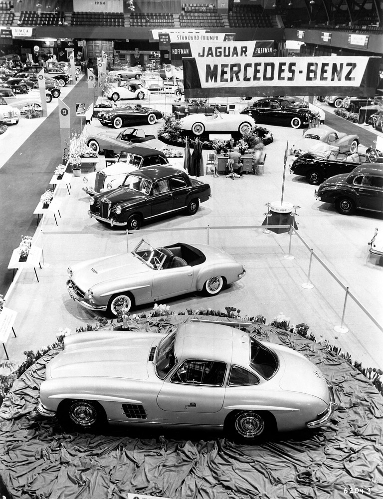Mercedes 300SL, New York 1954