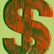 Warhol, Dollar Sign, 1981