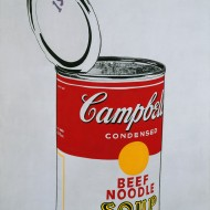 Warhol,Big Campbell's Soup Can, 1962