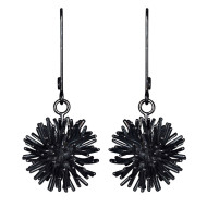 SofieLunøe_Pompon_earrings_oxidizedsilver_2500DKK_340EUR